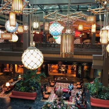 Le Polynesian Resort où se trouve le restaurant Ohana